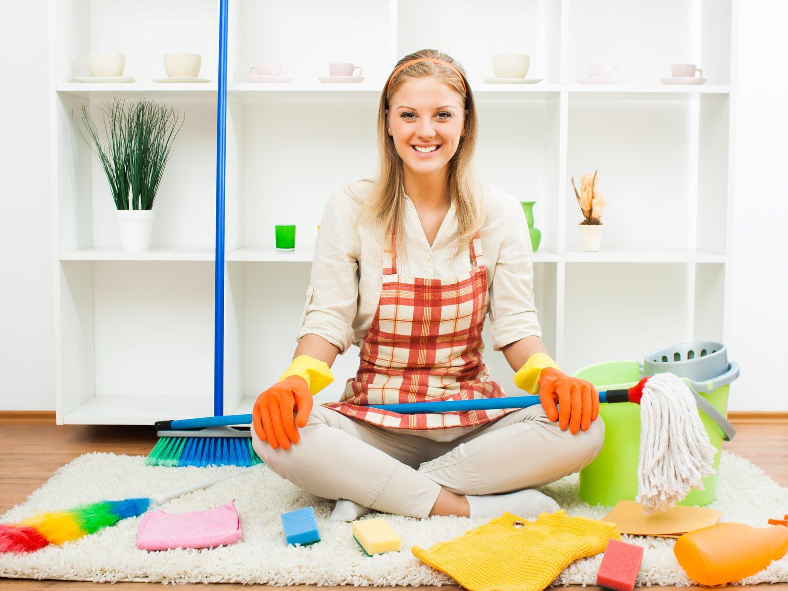 Как сделать так чтоб дома было всегда чисто